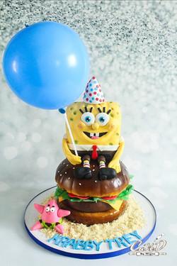 Spongebob Krabby Patty Cake