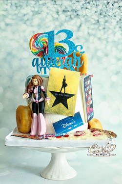 Favorite Things Quaranteen Cake