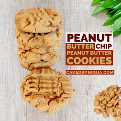 Peanut Butter Chip Peanut Butter Cookies
