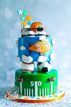 Sport Themed Cake