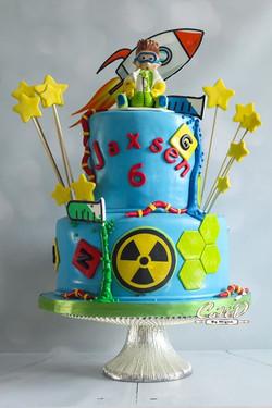 Mad Scientist Cake