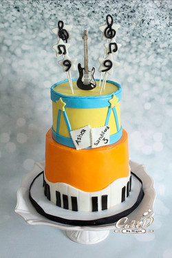 Rockstar Birthday Cake