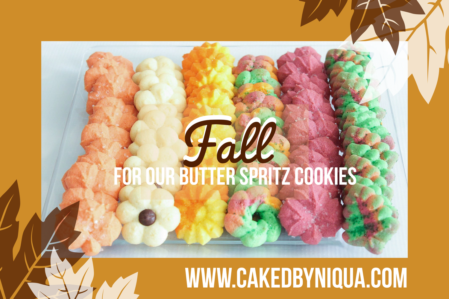 Fall Spritz Cookies