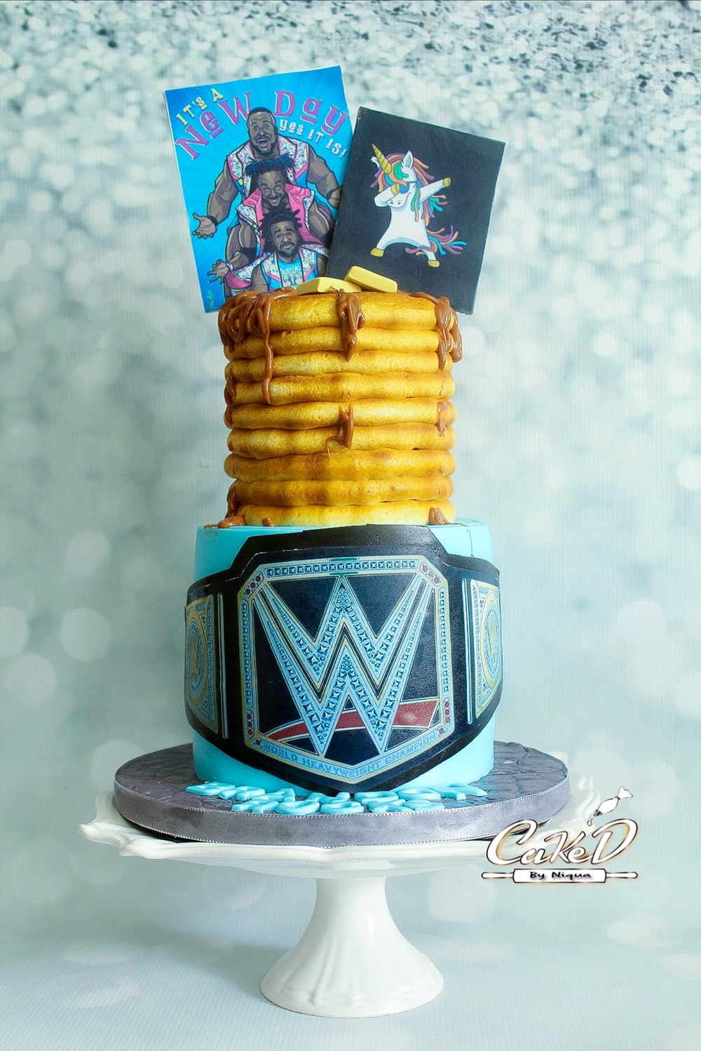 The New Day Birthday Cake