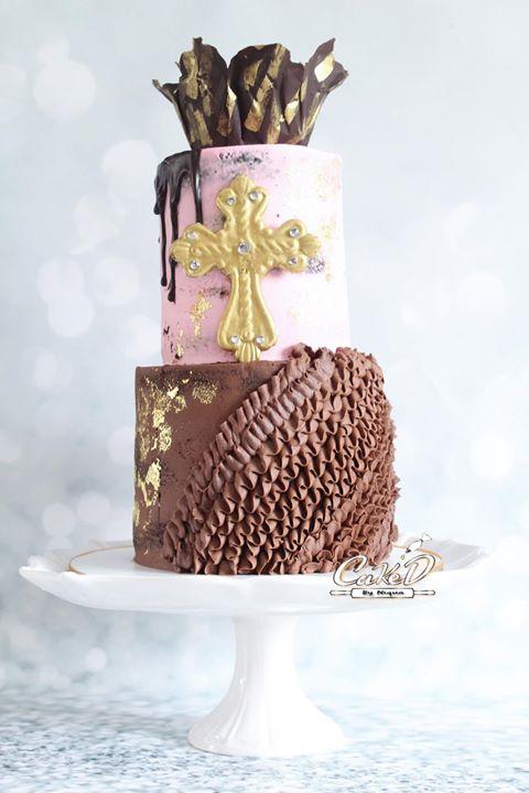 Buttercream Dedication Cake