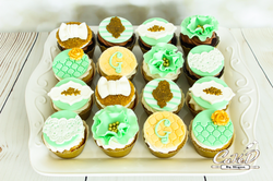 Vintage Themed Cupcakes