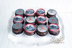 Jordan Sneaker Cupcakes