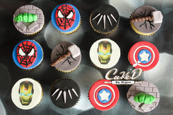 Marvel Superhero Cupcakes