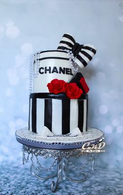 Chanel Fashion Cake