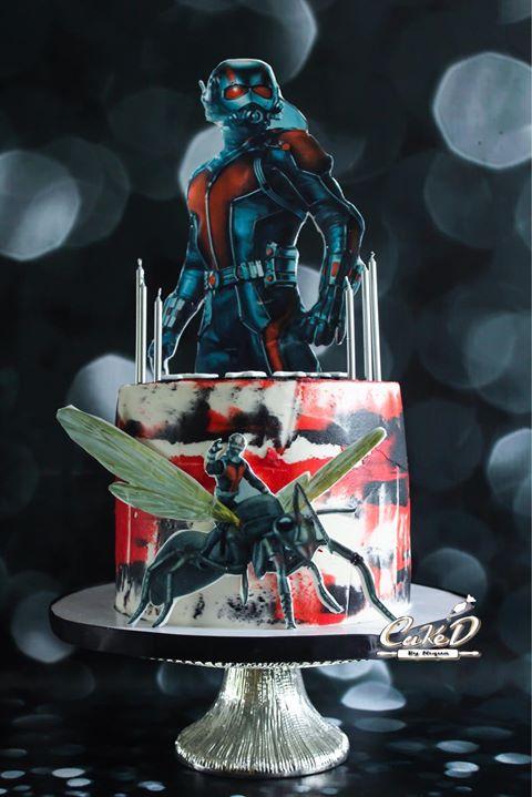 AntMan Cake