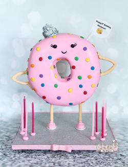 3D Donut Cake