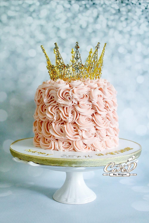 Royal Rosette Cake