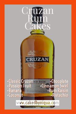Cruzan Rum Cakes