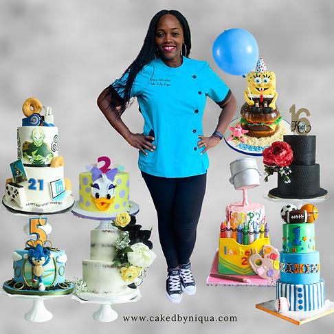 Niqua of Cake'D By Niqua LLC
