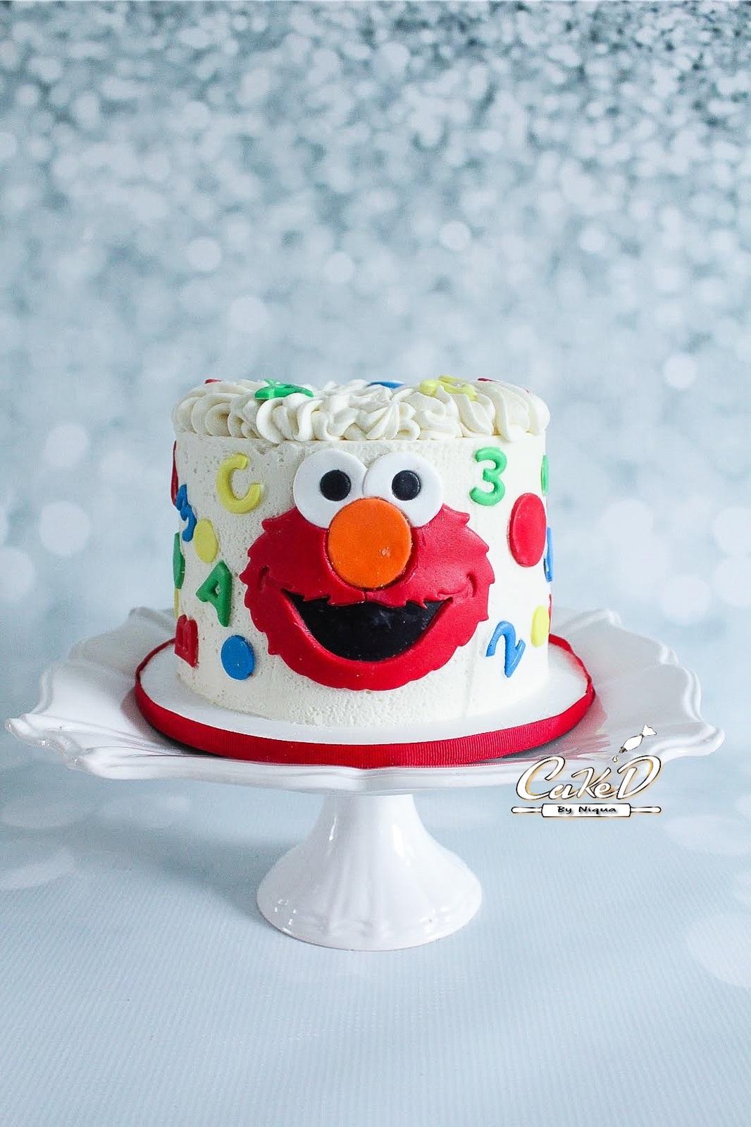 Sesame Street Smash Cake