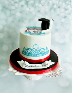 Liverpool Football Club Graduation Cake