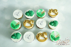 Rocking Horse Baby Shower Cupcakes