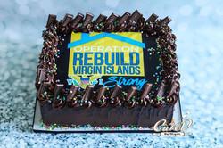 Virgin Islands Hurricane Relief Cake