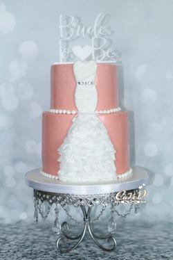 Bridal Shower Wedding Dress Cake