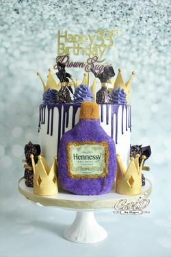 Royal Hennessey Cake