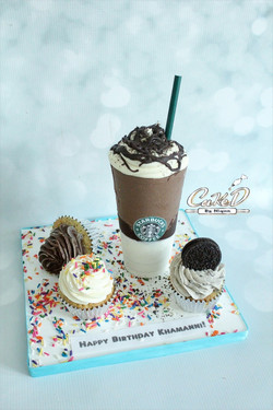 Starbucks Mocha Cookie Crumble Frappuccino Cake