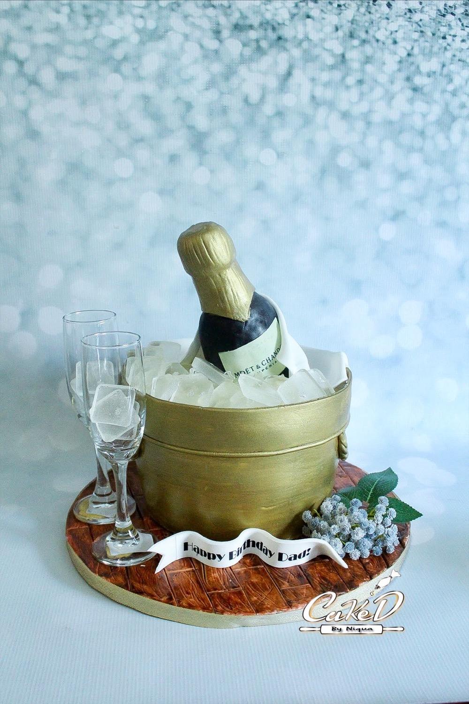 Ice Bucket Cake