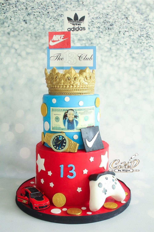 Favorite Things Birthday Cake