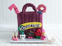 Shopkins Shopping Bag Cake