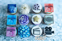 Hollywood Themed Cupcakes