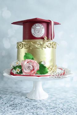Strayer University Graduation Cake
