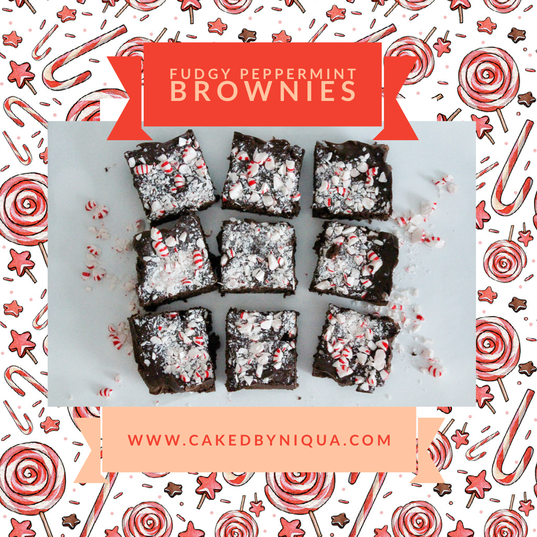 Fudgy Peppermint Brownies