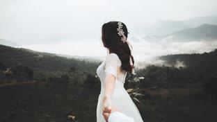Braut im Nebel