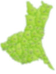 生活支援代行サービスの活動エリアは水戸市から茨城県内外までサポートしています。