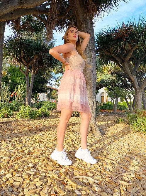 Vestido multicolor verano