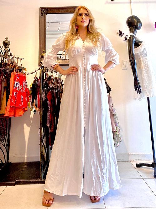 Vestido Bastión blanco