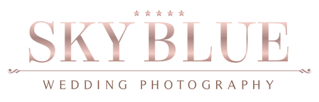 Sky Blue Wedding Photography provides the finest of elegant and romantic imagery.