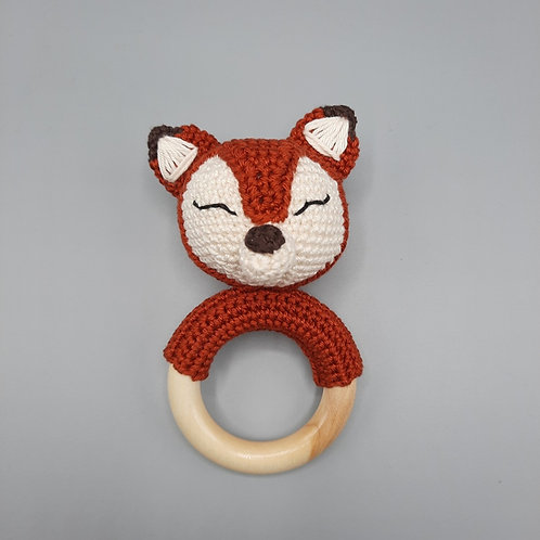 Rassel Fuchs rotbraun