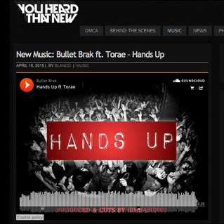 "YouHeardThatNew.com - Bullet Brak - ""Hands Up"" (ft Torae)"
