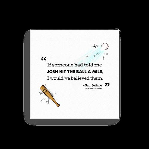 "Josh Gibson aka ""Josh the Basher"" Signature Print Canvas Series (1st edition)"