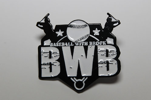 Baseball with Brock Team Hat Pin (Limited Edition)
