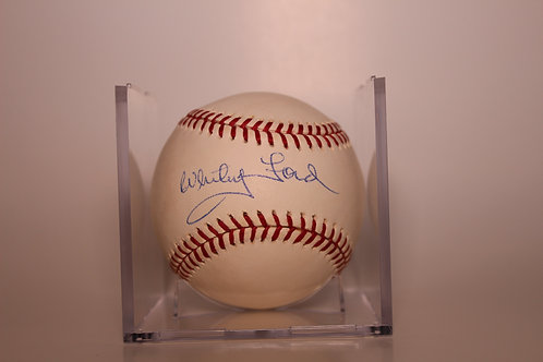 """Whitey"" Ford autographed MLB baseball"