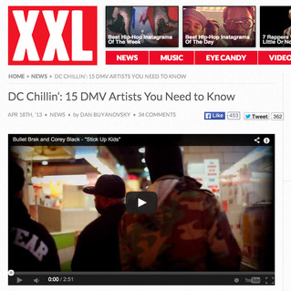 Bullet Brak featured in XXL's Top 15 Artists You Need to Know