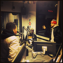 Kid Ink x Bullet Brak (in studio)