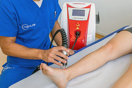 fisiokinesiterapia laser terapia nd yag alta potenza