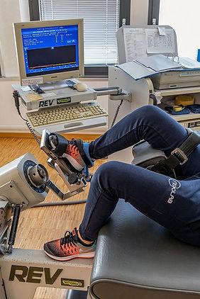 fisioterapia riabilitazione trattamento isocinetico rev 9000