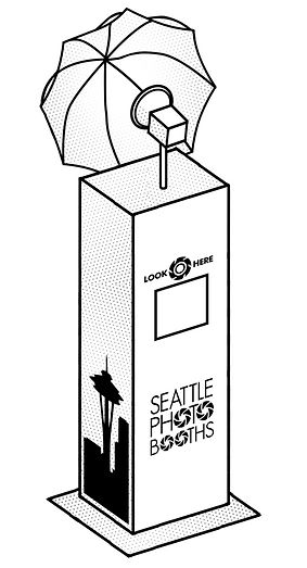 Branded Booth | Seattle Photo Booths