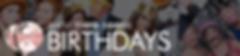 Birthdays & Mitzvahs | Seattle Photo Booths