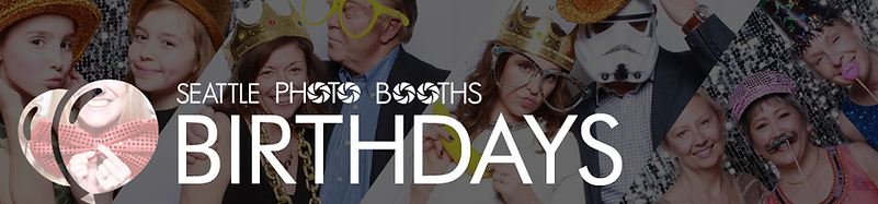 Birthdays & Mitzvahs | Seattle Photo Booths
