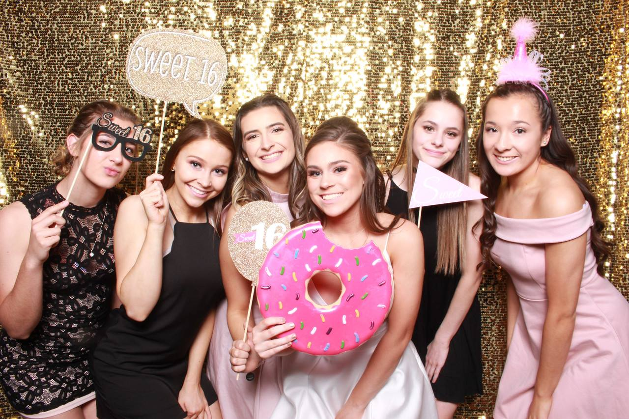 Sweet 16 Photo Booth Rental Seattle