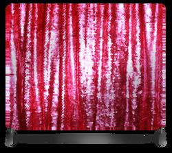 Fuchsia Sequin